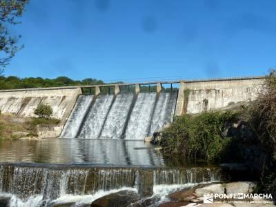 Valle de la Pizarra y los Brajales - Cebreros; la barranca puente de octubre la selva de irati
